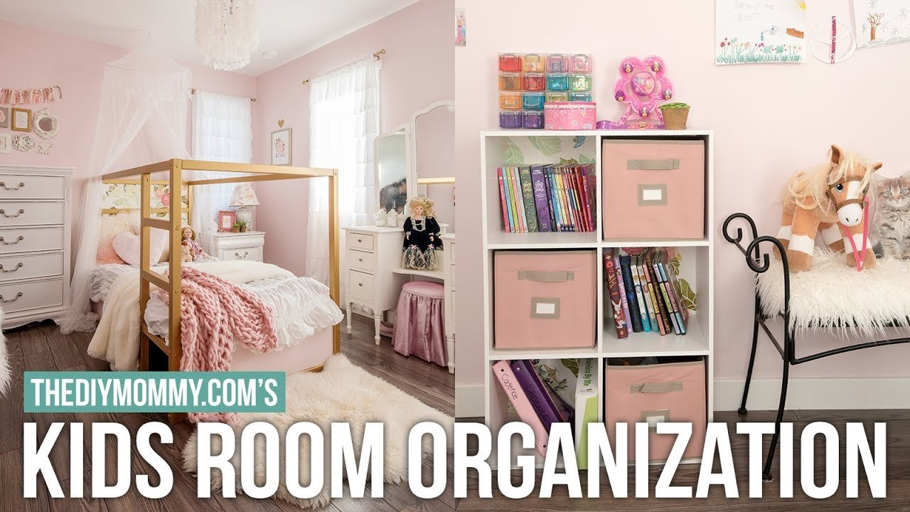 Best Kids Bedroom Organization Diy Decor Challenge The With Pictures