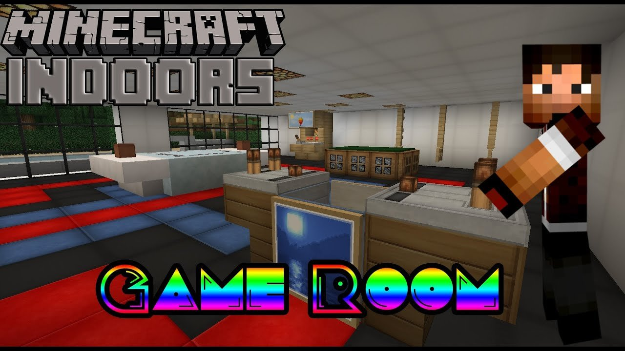 Best How To Build A Game Room Minecraft Indoors Interior With Pictures