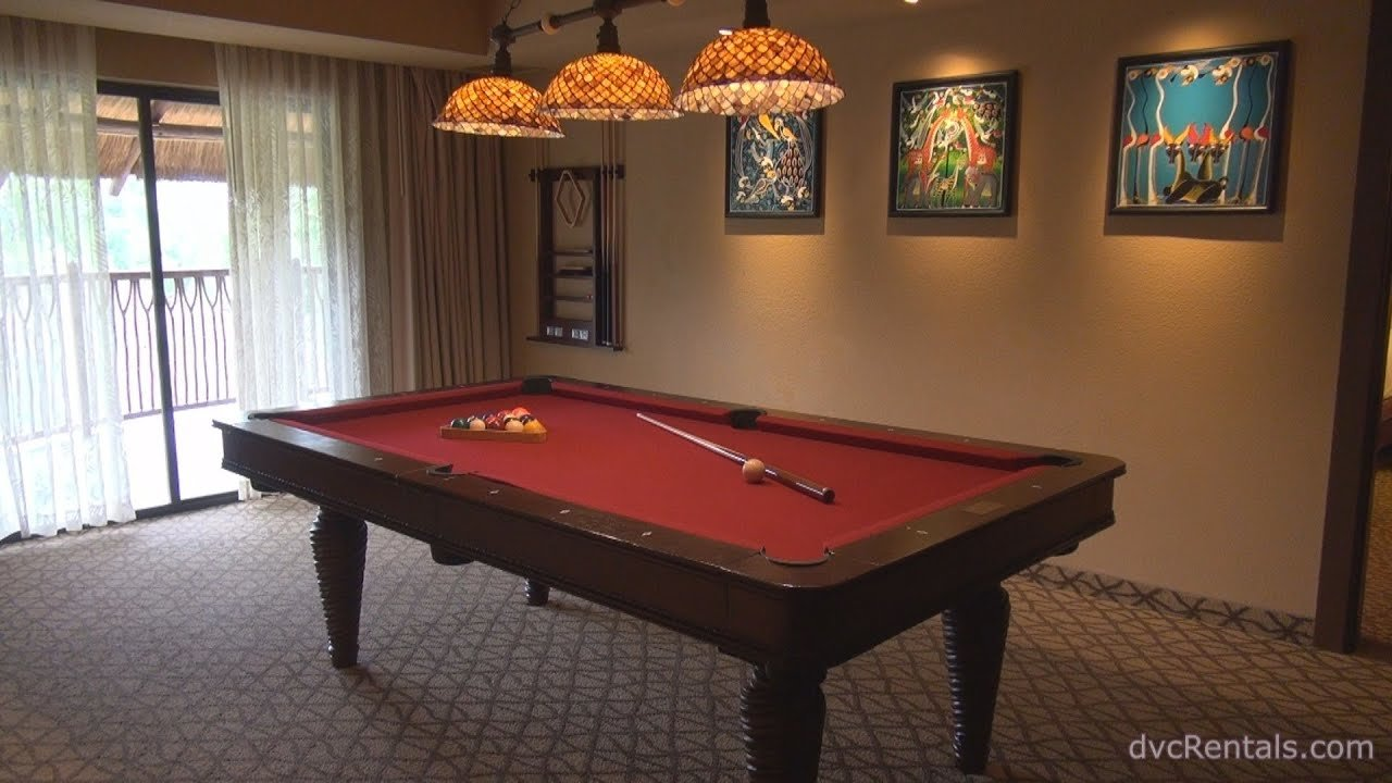 Best Animal Kingdom Lodge Jambo House Room Tours 3 Bedroom Grand Villa With Game Room Youtube With Pictures