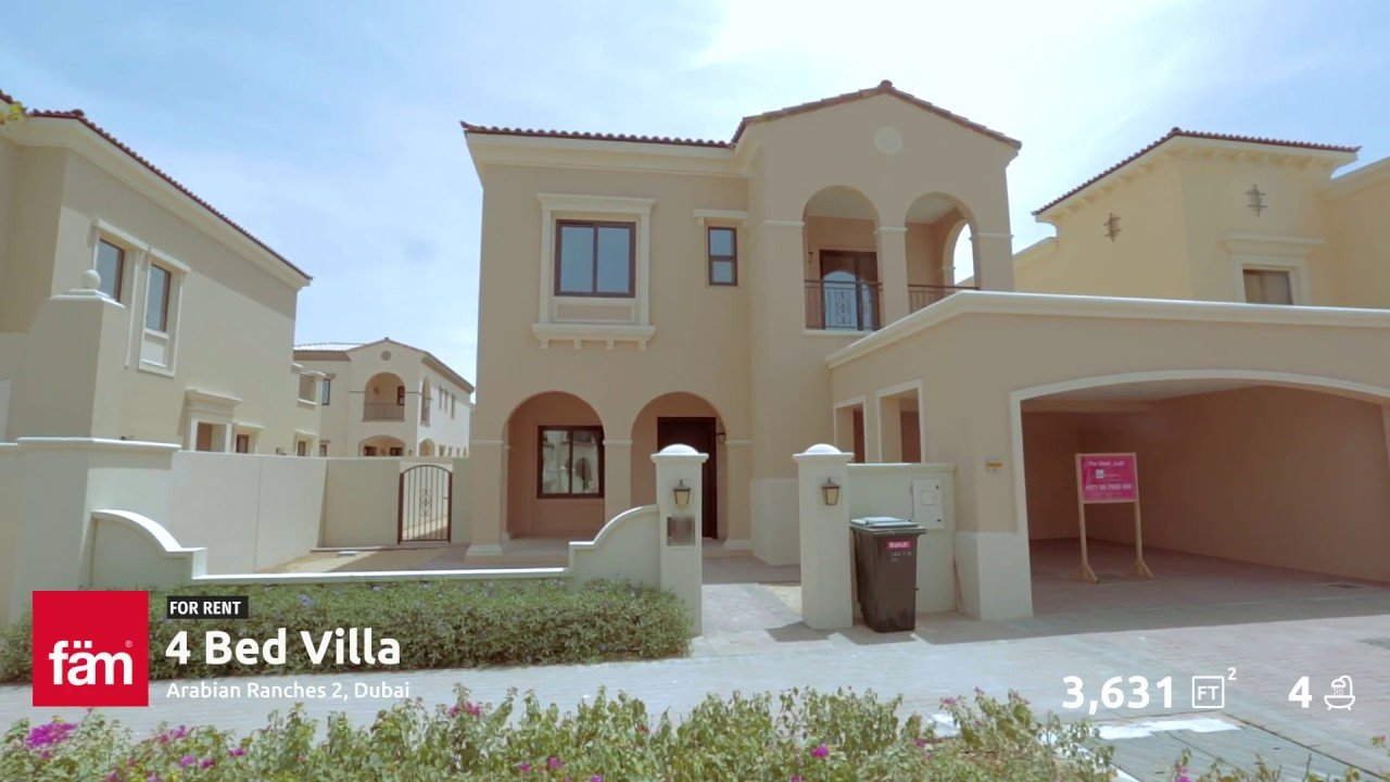 Best 4 Bedroom Type 3 Villa For Rent At Lila Arabian Ranches With Pictures