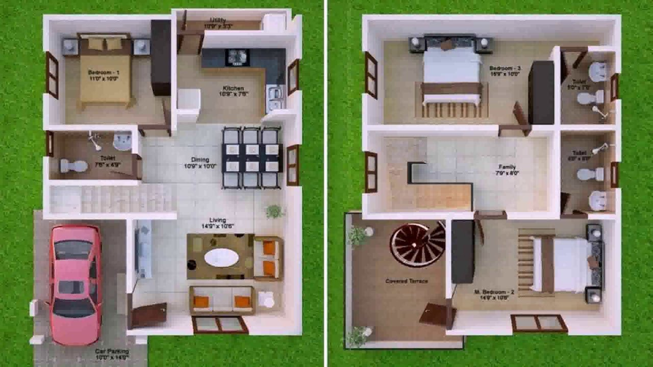 Best East Facing 3 Bedroom House Plans As Per Vastu Gif Maker With Pictures