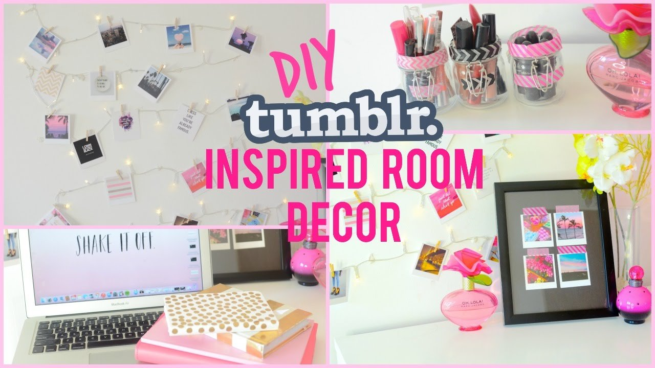 Best Diy Room Decor Tumblr Inspired I Dizzybrunette3 Youtube With Pictures