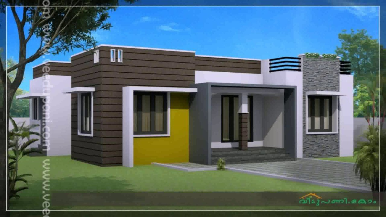 Best Kerala Style House Plan 3 Bedroom Youtube With Pictures