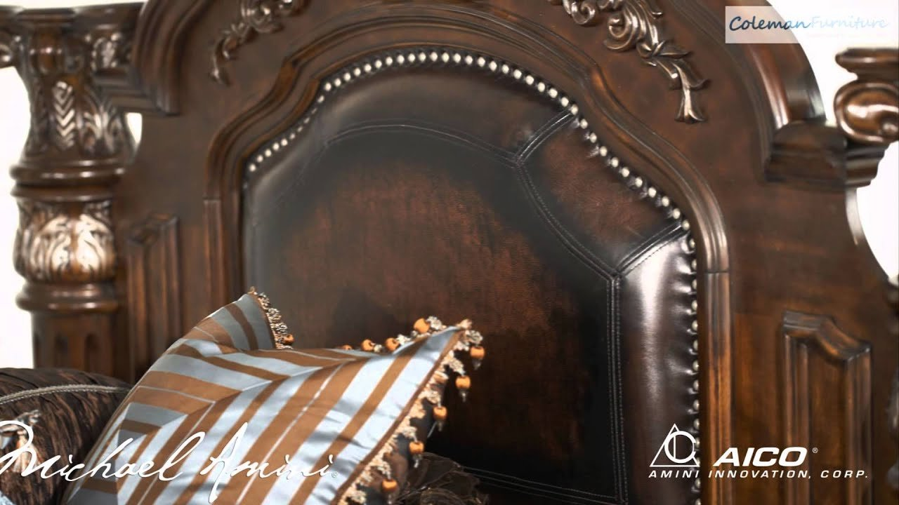 Best Monte Carlo Ii Cafe Noir Bedroom Collection From Aico With Pictures