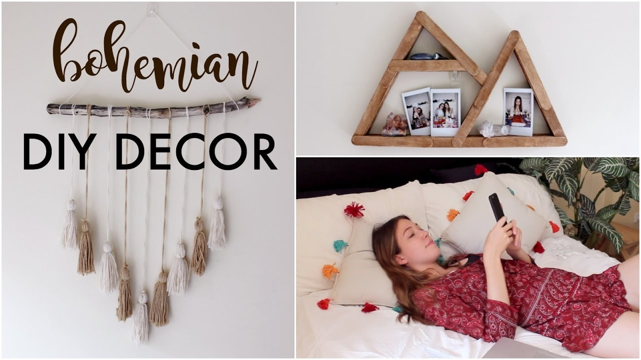 Best Diy Minimalist Boho Room Decor Tumblr Pinterest Inspired With Pictures