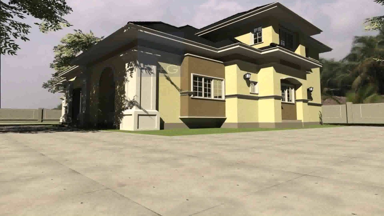 Best 6 Bedroom Bungalow House Plans In Nigeria Youtube With Pictures