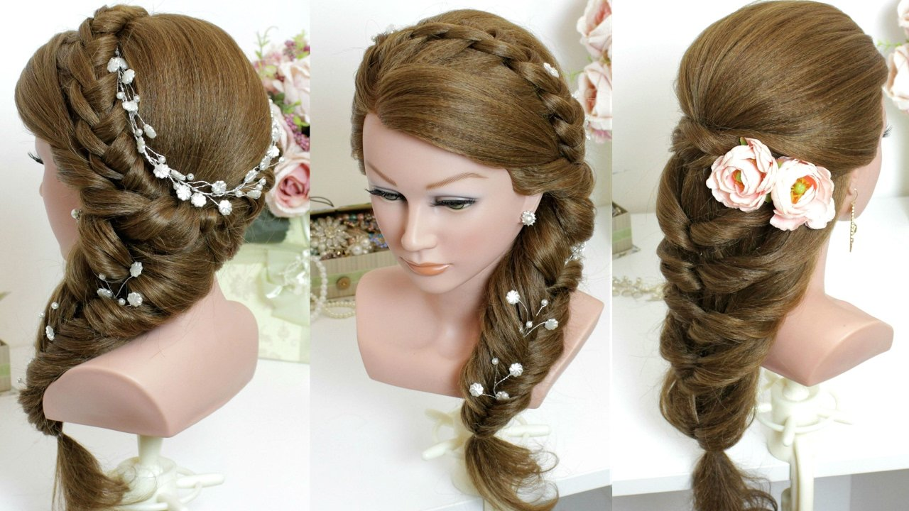Free 2 Cute And Easy Hairstyles For Long Hair Tutorial Youtube Wallpaper