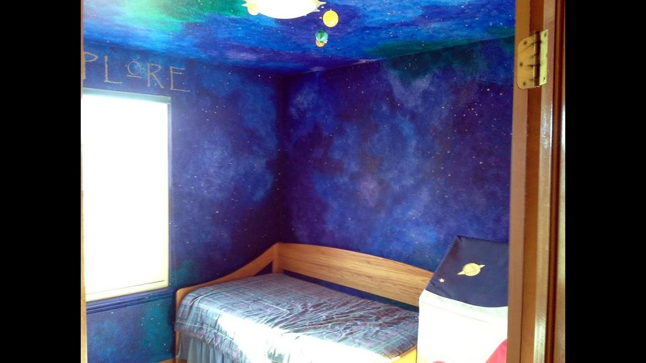 Best How To Paint A Star Night Sky Themed Nursery That Will With Pictures