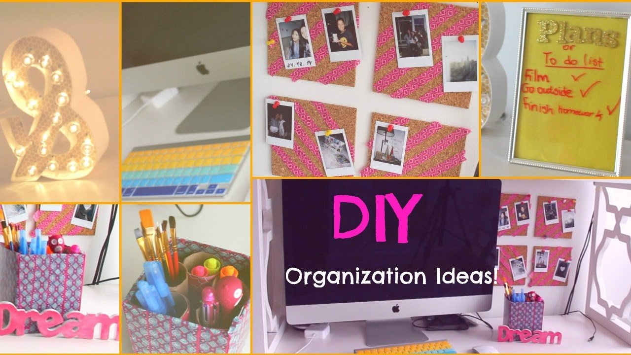 Best Diy Room Organization Storage Ideas For Teens Youtube With Pictures