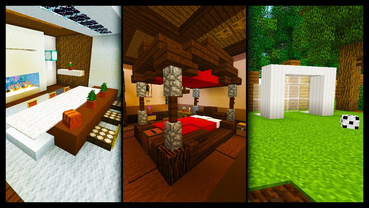 Best Minecraft 50 Furniture Room Designs Ideas Youtube With Pictures
