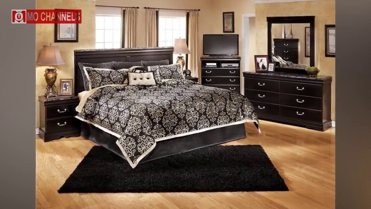 Best 30 Black Bedroom Furniture Decorating Ideas Youtube With Pictures