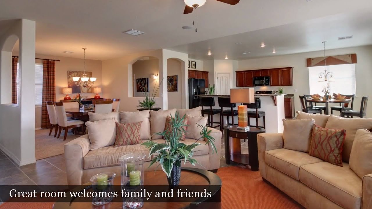 Best 3 Bedroom Home El Paso Tx Capistrano Model By With Pictures