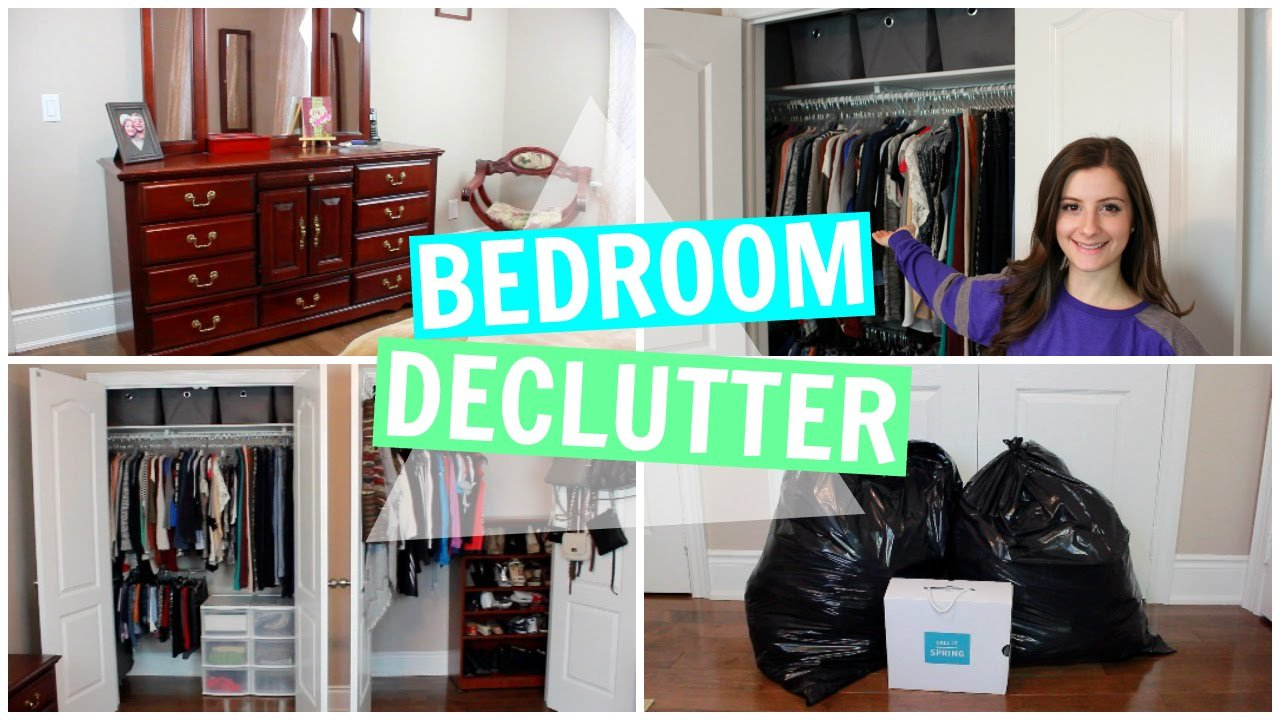 Best Bedroom Declutter Organization For The New Year Youtube With Pictures