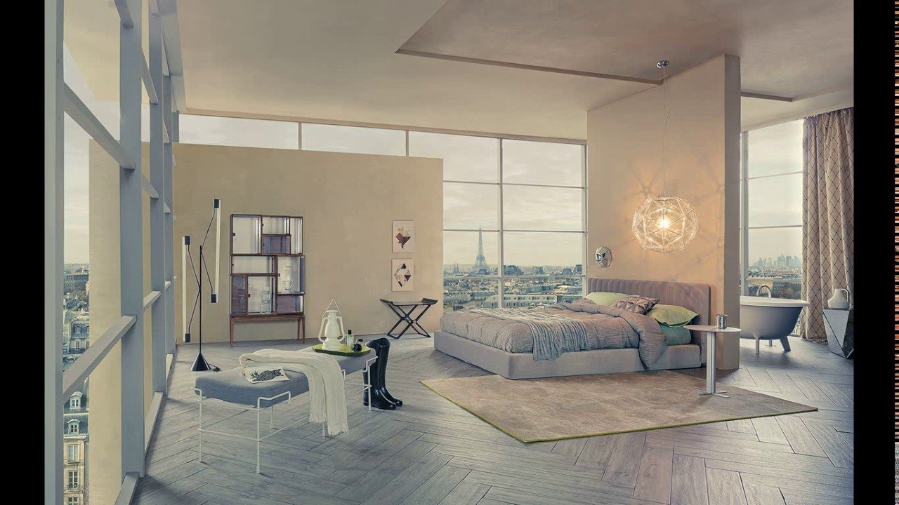 Best Open Plan Bedroom And Bathroom Designs Youtube With Pictures