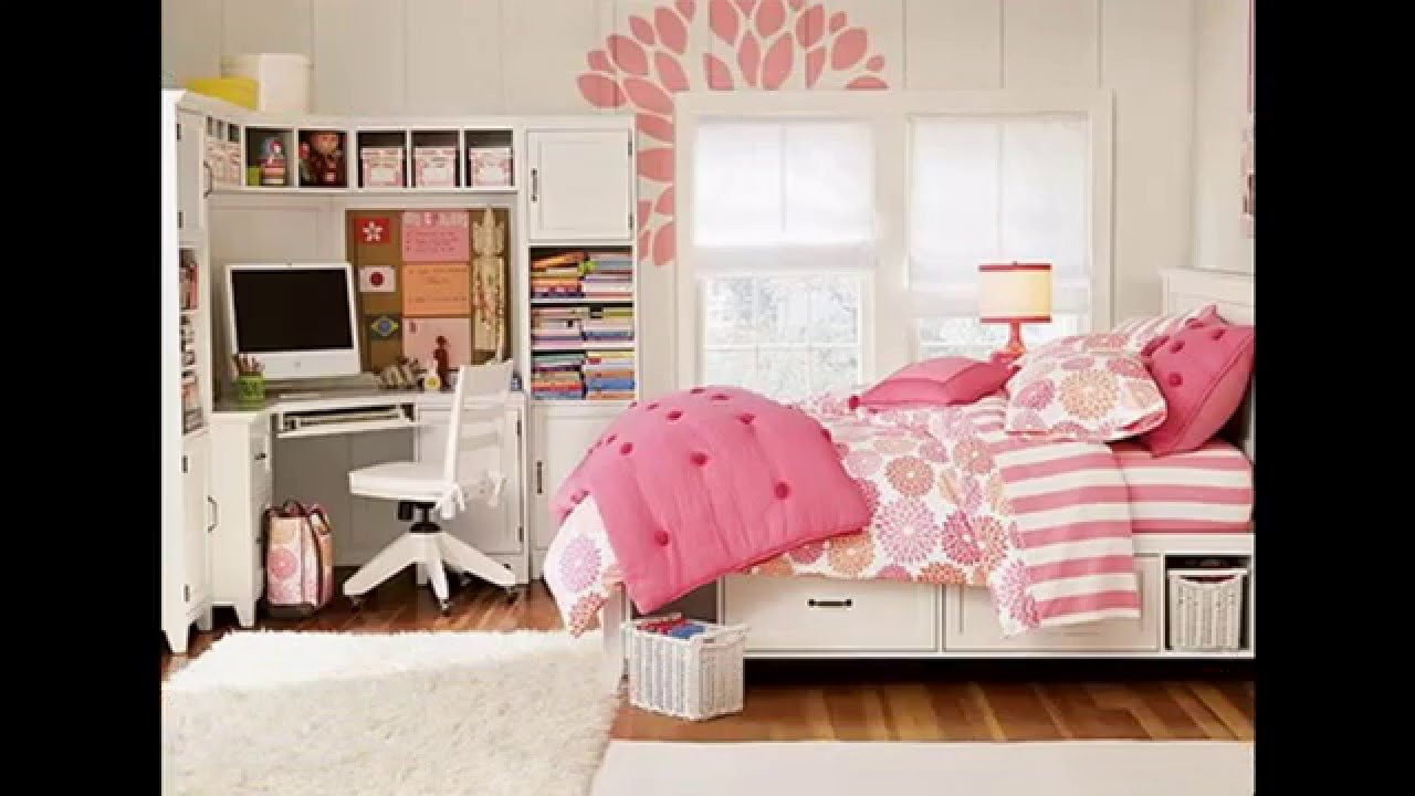 Best Teenage Girl Bedroom Ideas For Small Rooms Youtube With Pictures