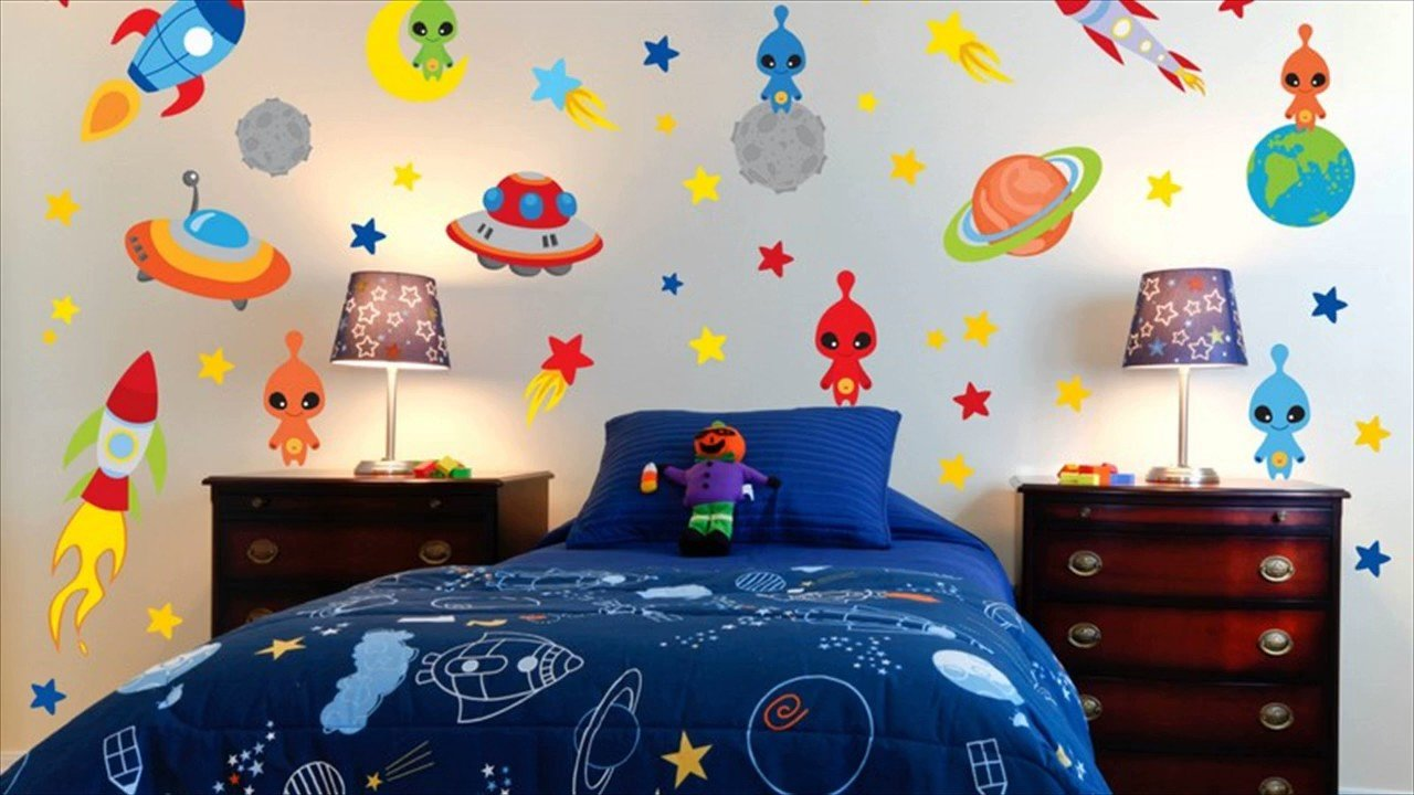 Best Space Theme Room For Kids Youtube With Pictures
