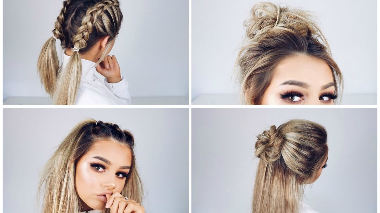 Free Quick And Easy Hairstyles Youtube Wallpaper