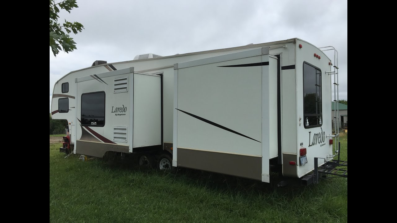 Best 2006 Keystone Laredo 2 Bedroom Bunkhouse Fifth Wheel With Pictures