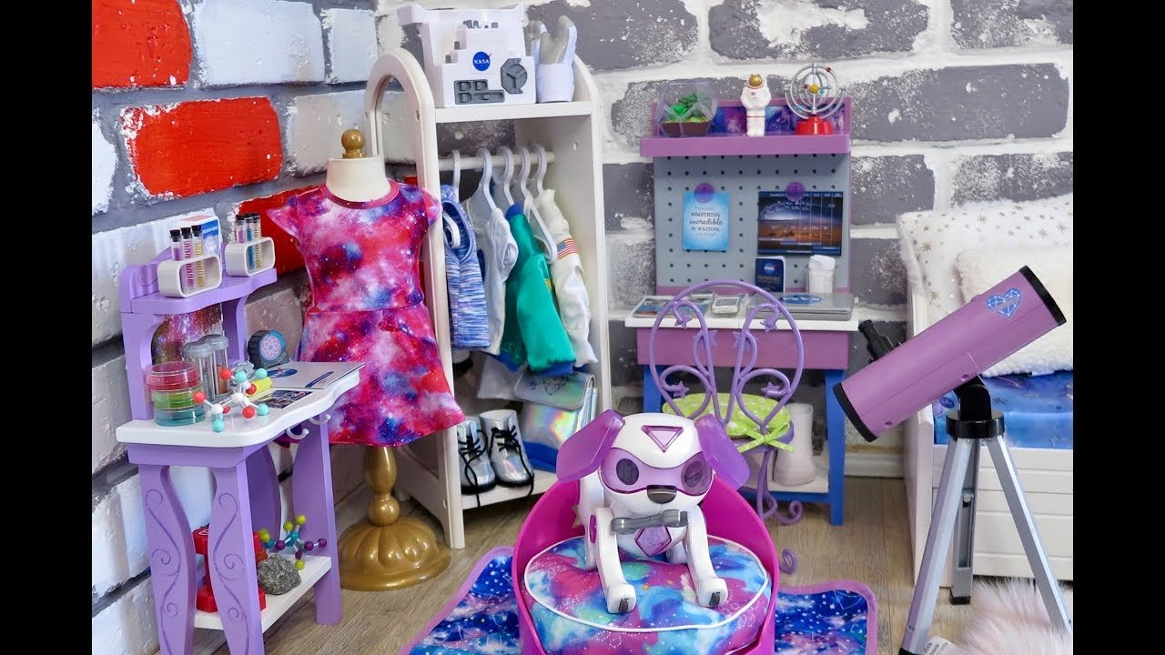 Best Baby Doll Galaxy Bedroom Play American Girl Dolls Room With Pictures