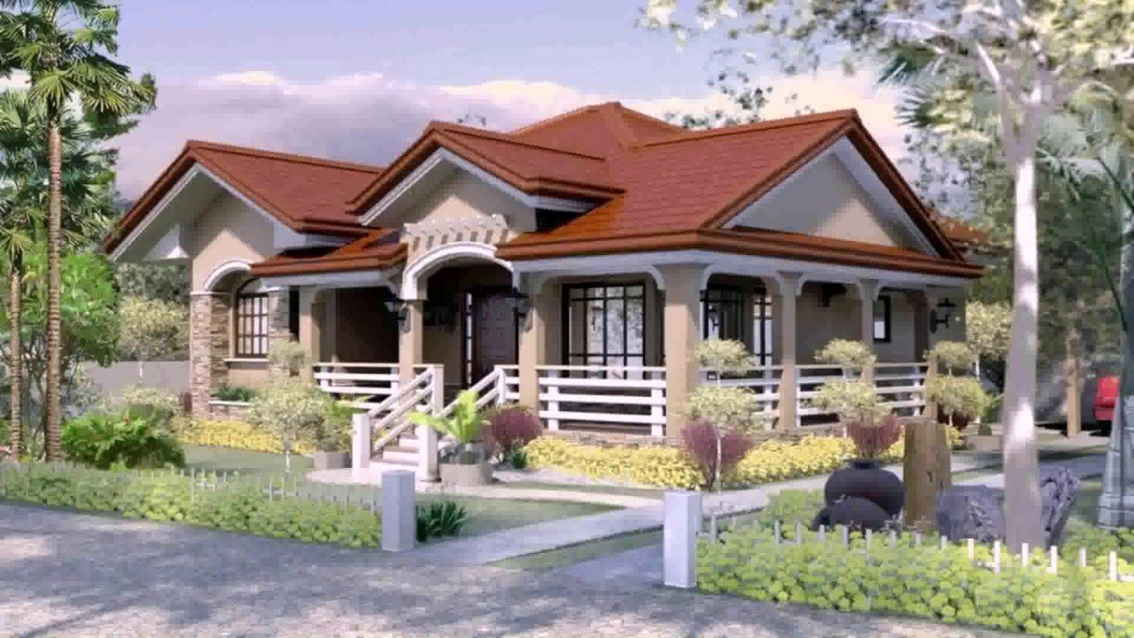 Best 4 Bedroom Bungalow House Plans In Philippines Youtube With Pictures