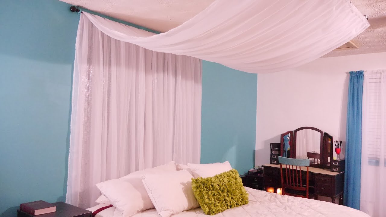 Best Diy Canopy Easy Inexpensive Youtube With Pictures