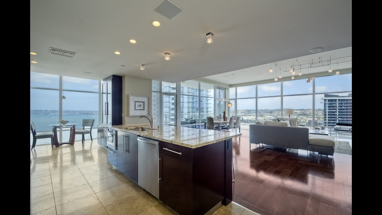 Best Downtown San Diego Condo For Sale Luxury 2 Bedroom With With Pictures