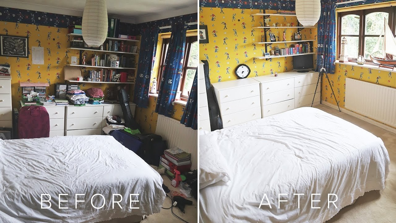 Best Huge House Sweep Old Childhood Bedroom Declutter Youtube With Pictures