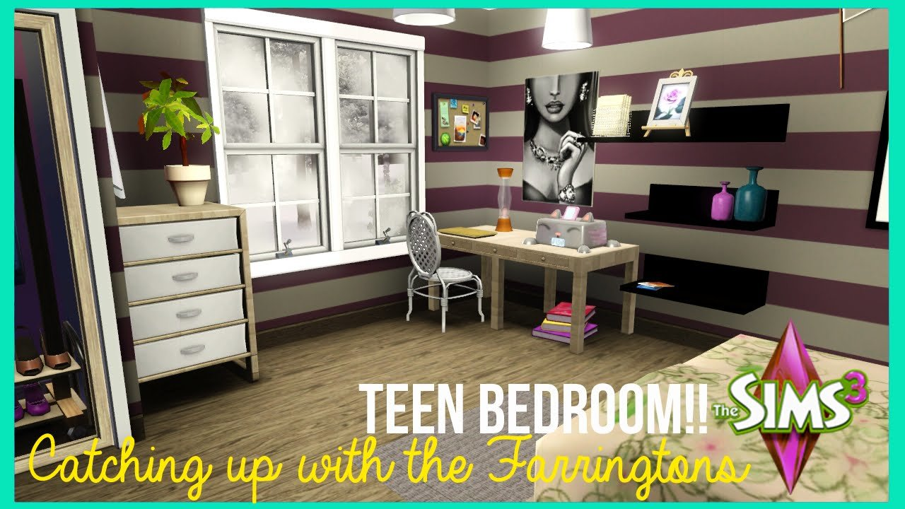 Best The Sims 3 T**N Bedroom Catching Up With The Farringtons Youtube With Pictures
