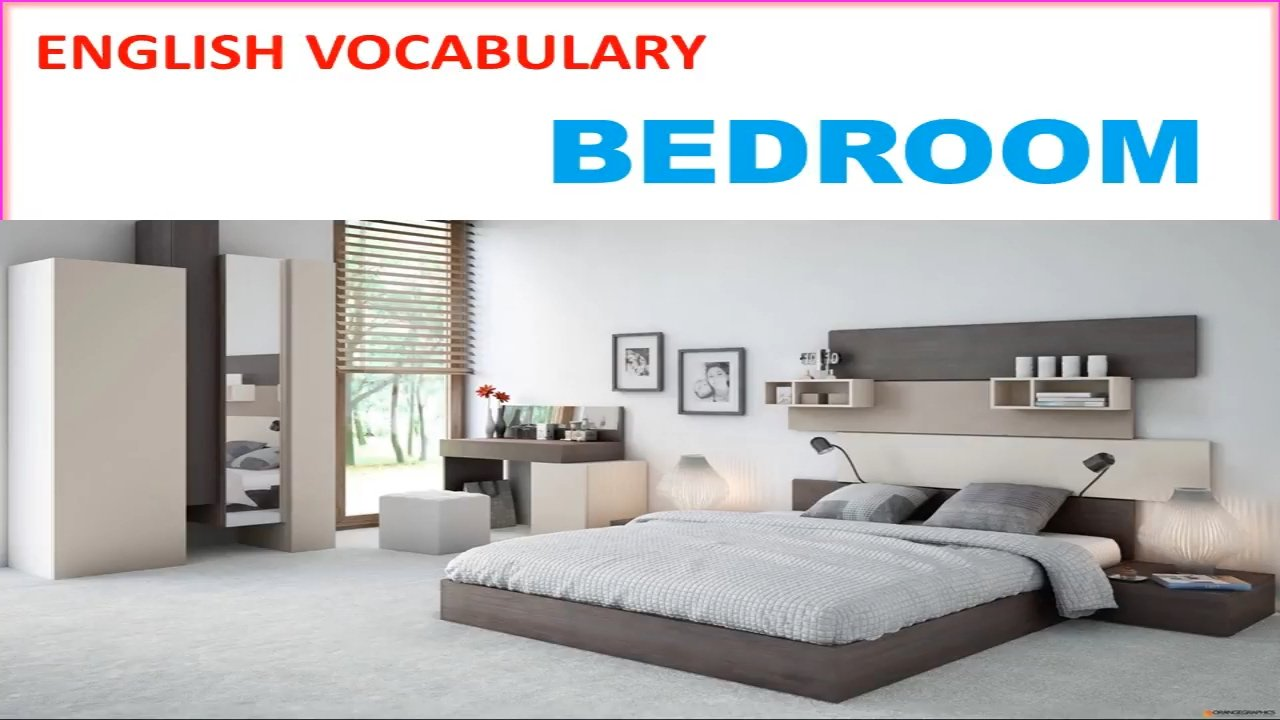 Best Bedroom Vocabulary With Picture Pronunciation And Definition Lesson 9 Youtube With Pictures