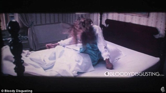 Best Creepy Never Before Seen Footage From The Exorcist Shows Actress Possessed By Evil Force In With Pictures