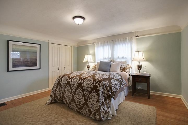 Best Elegant Palladian Blue Fashion Seattle Traditional Bedroom With Pictures