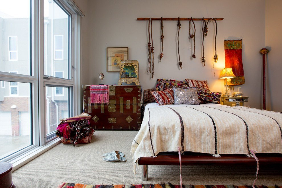 Best Gorgeous Kilim Pillows Vogue Seattle Eclectic Living Room With Pictures