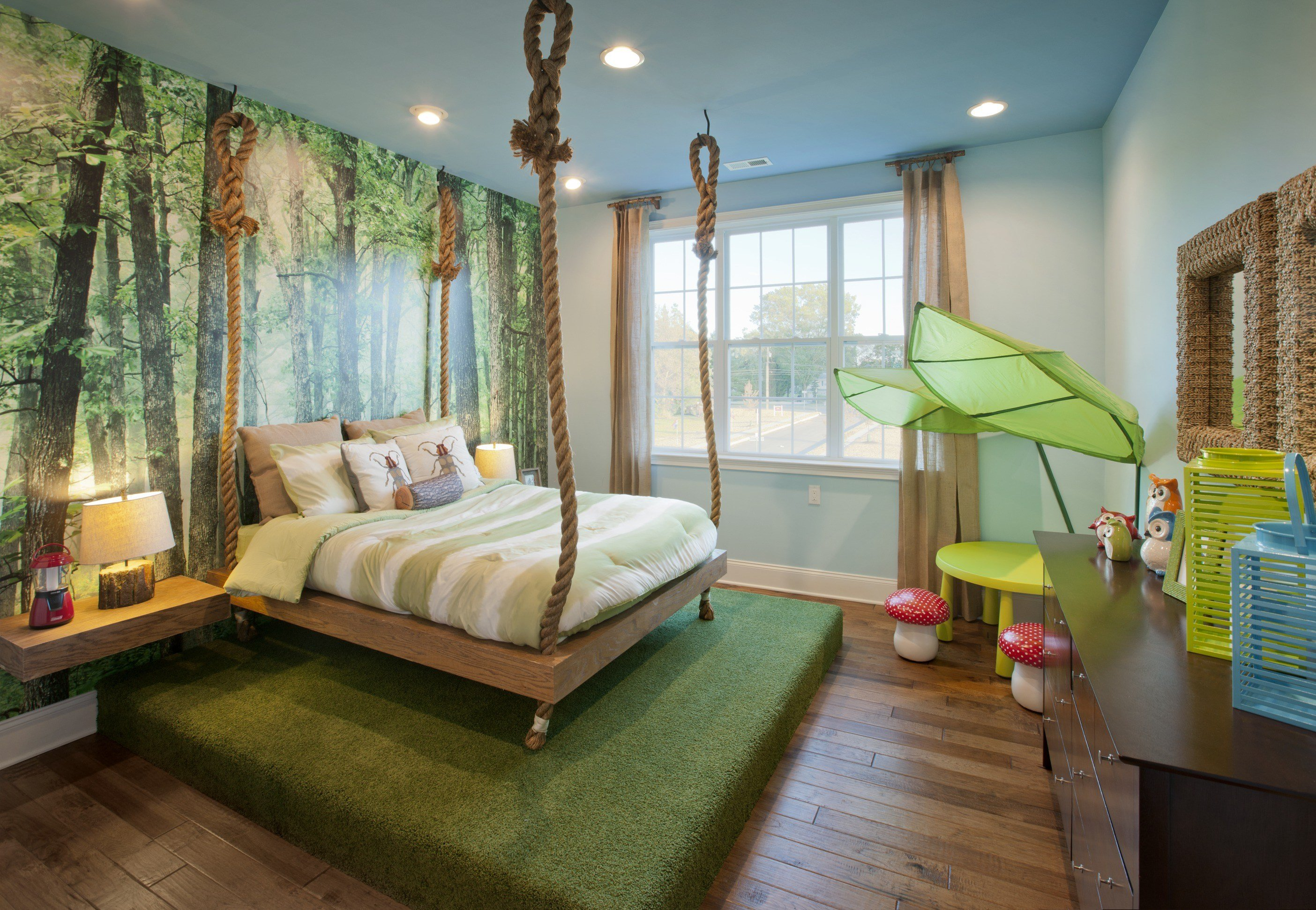 Best Journey Into This Jungle Themed Kids Room Kids Room Ideas With Pictures