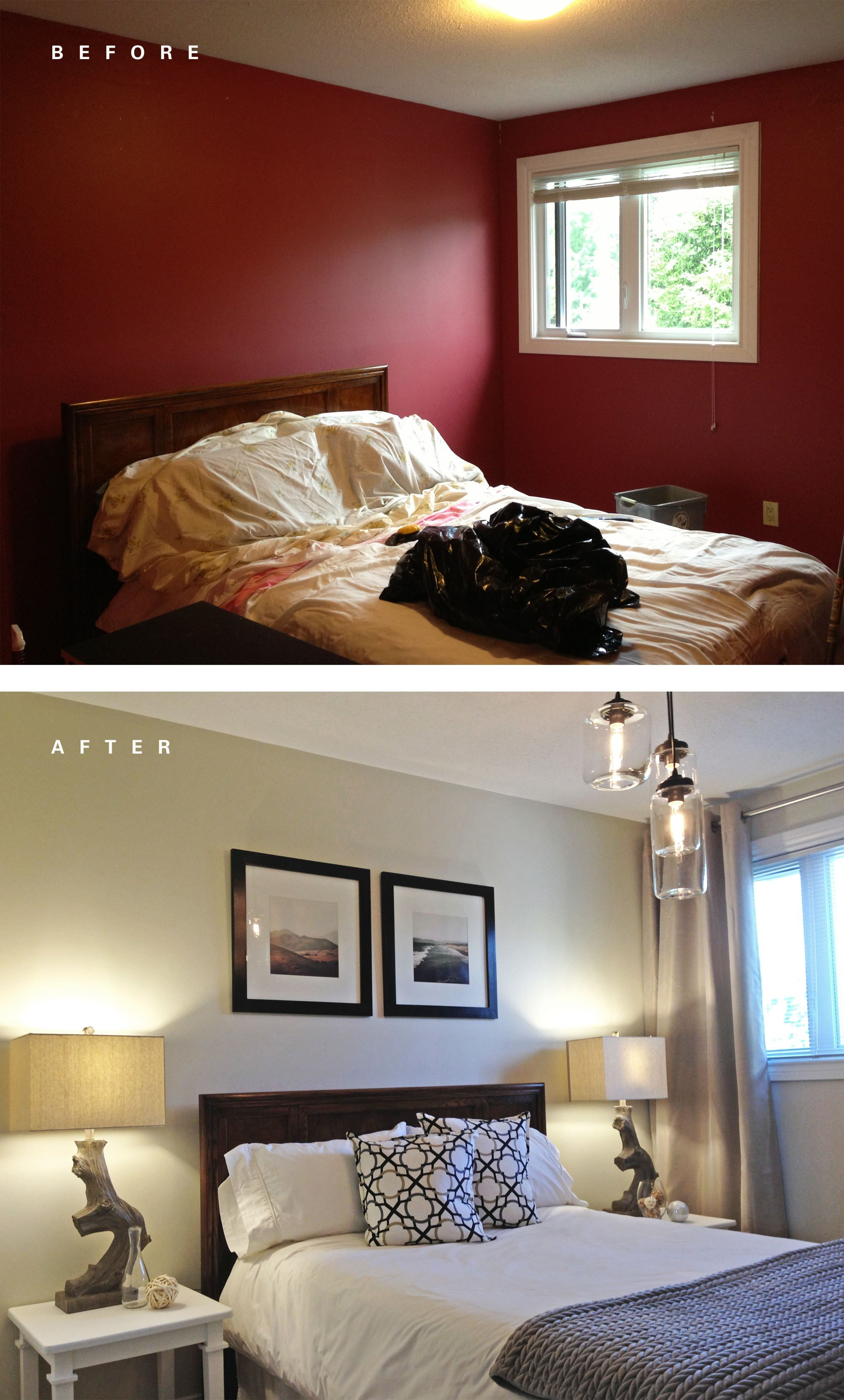 Best Guest Bedroom Before And After – Leclair Decor With Pictures