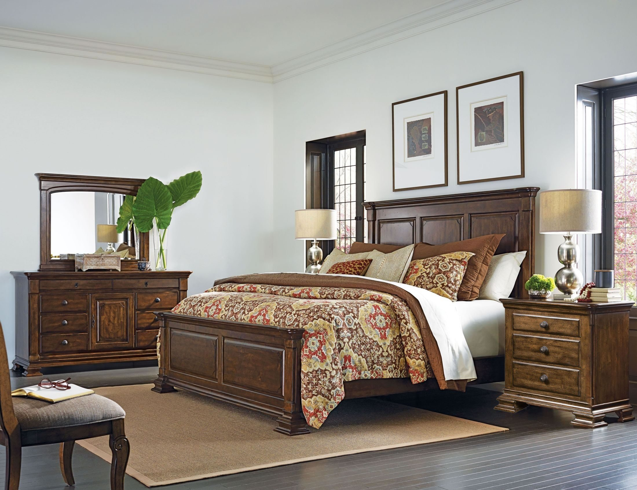 Best Portolone Monteri Panel Bedroom Set From Kincaid Furniture With Pictures