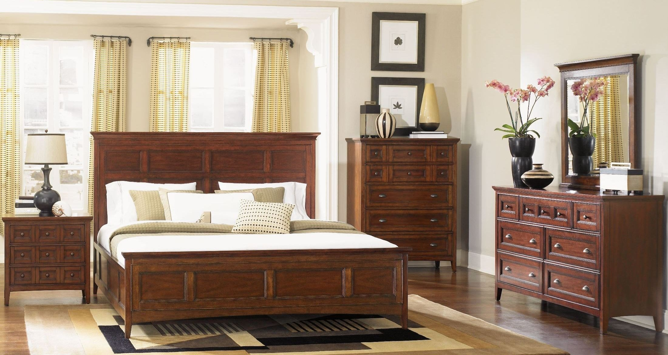 Best Harrison Panel Bedroom Set From Magnussen Home B1398 54H With Pictures