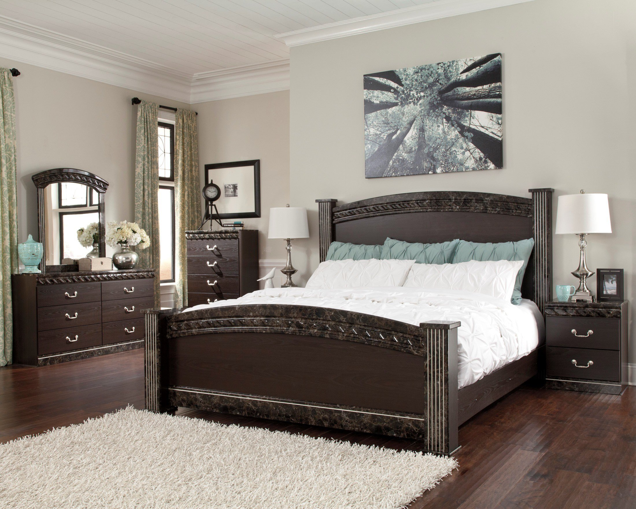 Best Vachel Poster Bedroom Set From Ashley B264 67 64 98 61 With Pictures