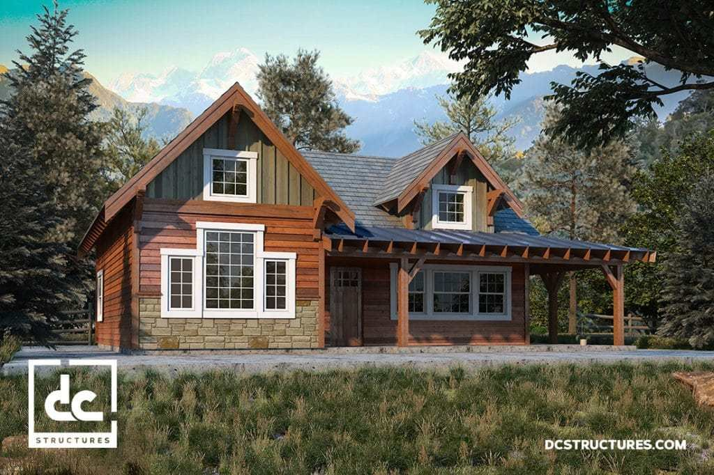 Best Rogue Cabin Kit 2 Bedroom Cabin Plan Dc Structures With Pictures