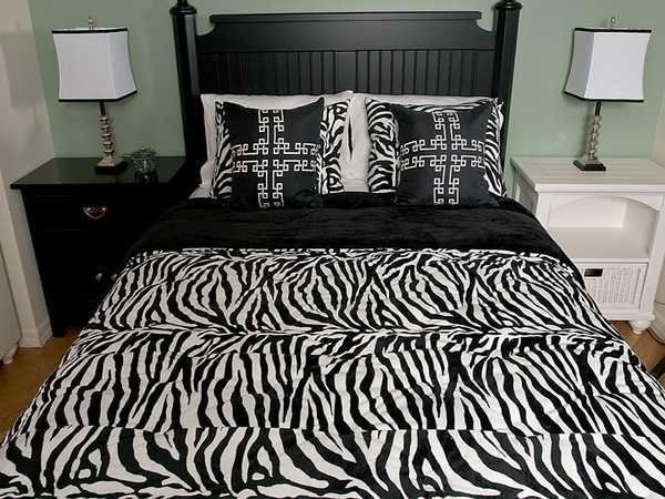 Best Zebra Prints And Decoration Patterns Personalizing Modern Bedroom Decor With Pictures