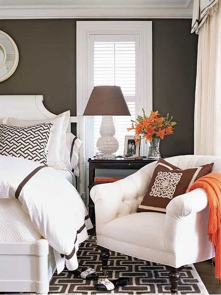 Best Color Schemes Taupe Orange Ivory… – Design Indulgences With Pictures