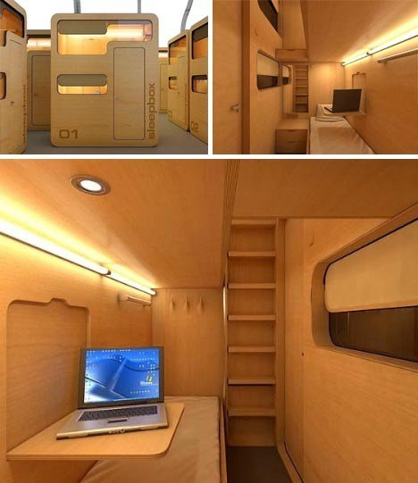 Best Sleep Box Modular Office Pod Business Travel Bedroom With Pictures