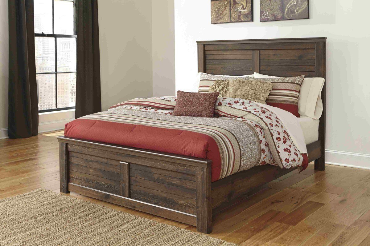 Best Bedroom Sets Quinden Queen Bedroom Set Newlotsfurniture With Pictures