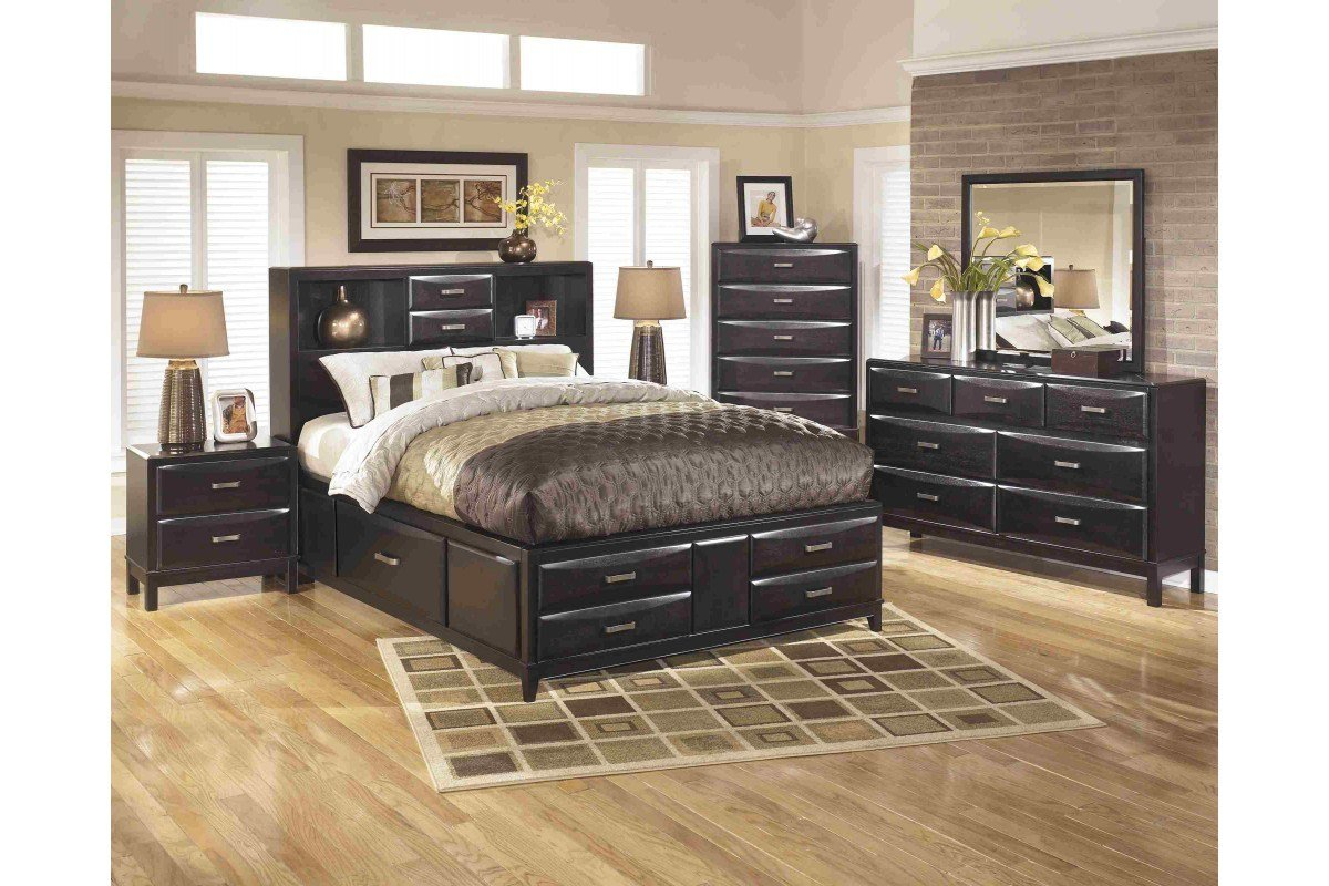 Best Bedroom Sets Kira Queen Bedroom Set Newlotsfurniture With Pictures