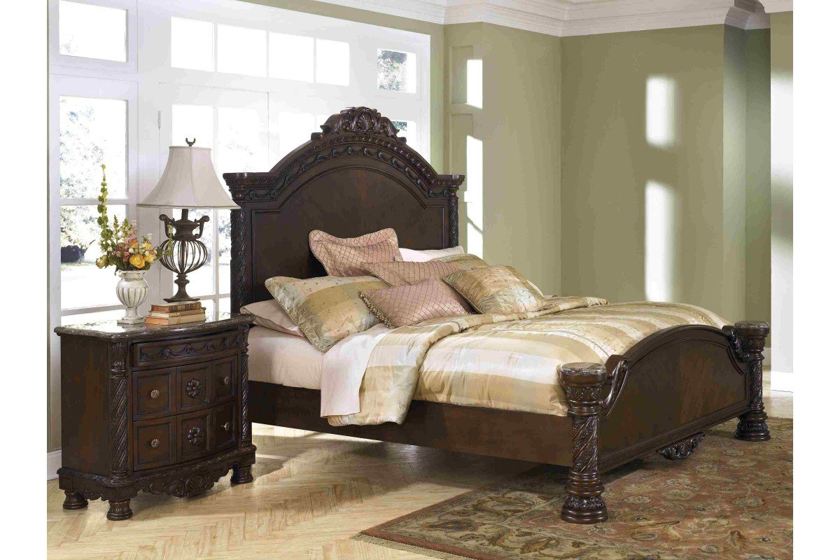 Best Bedroom Sets North Shore King Bedroom Set Newlotsfurniture With Pictures