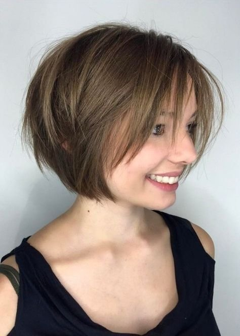 Free 30 Layered Bob Haircuts For Weightless Textured Styles Wallpaper