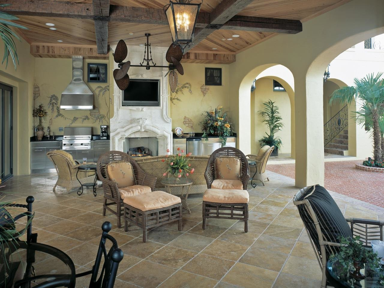 Best Outdoor Living Spaces Ideas For Outdoor Rooms Hgtv With Pictures