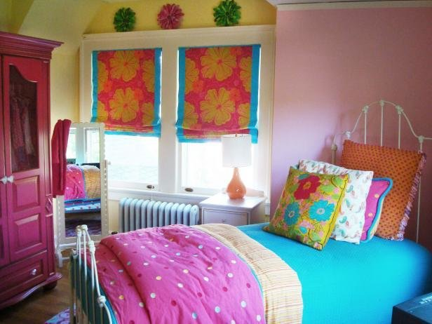 Best Colorful T**N Bedrooms Hgtv With Pictures