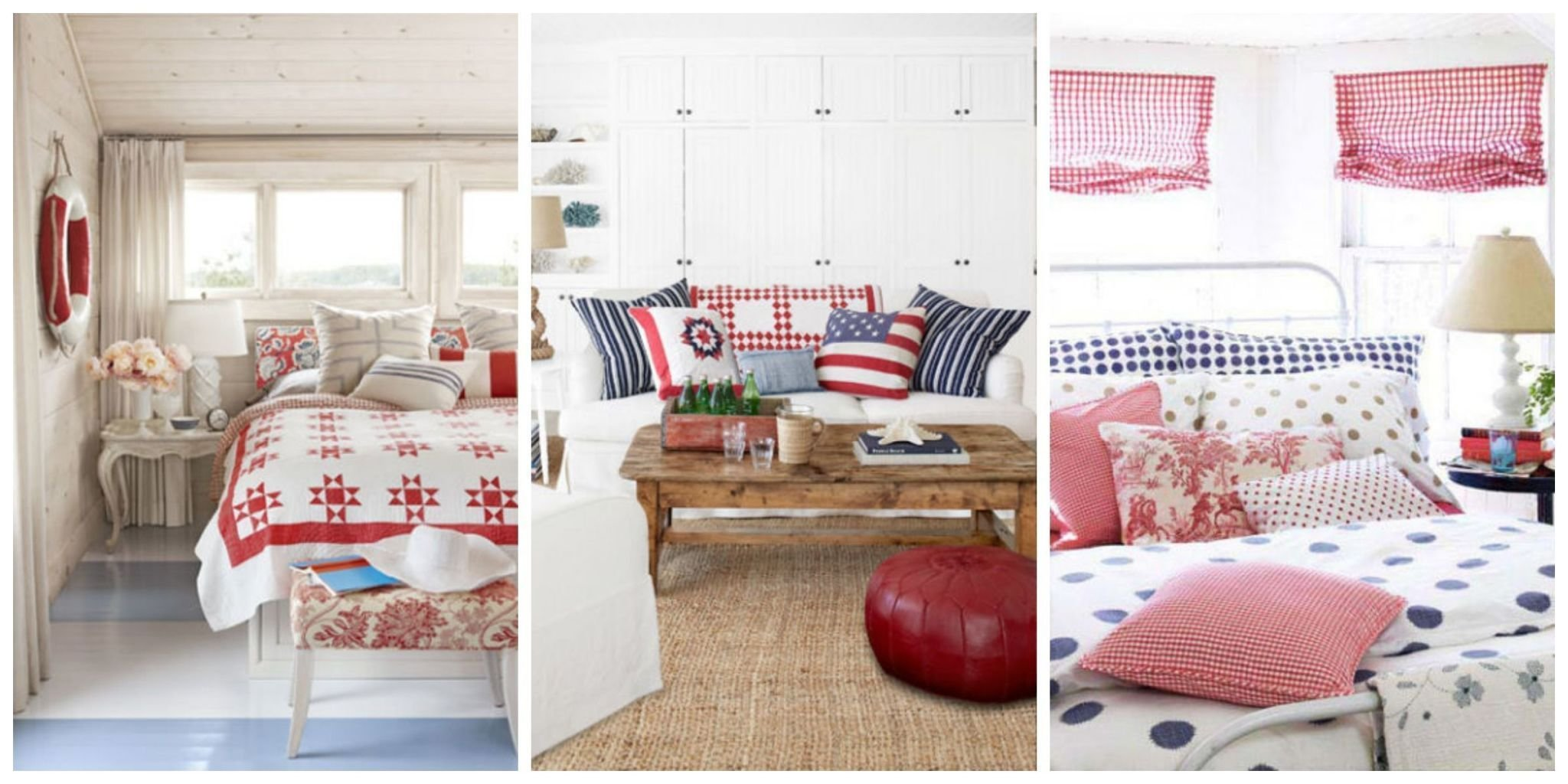 Best Patriotic Decor 4Th Of July Red White And Blue Decorating Ideas With Pictures