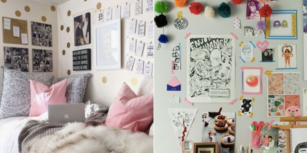 Best 15 Cute Bedroom Ideas Decorating Tips For University Halls With Pictures