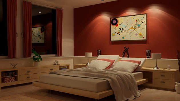 Best 15 Invigorating Red Bedroom Designs Home Design Lover With Pictures